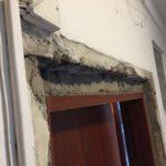Betonování zárubní