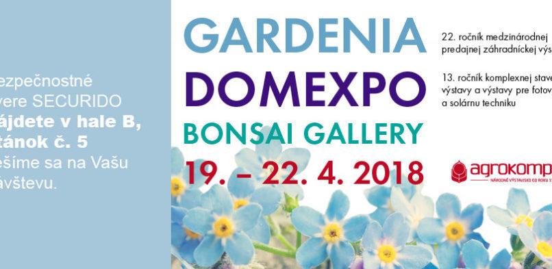 Přijďte na výstavu DOMEXPO v Nitře (SK)
