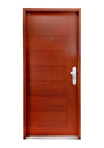 Bezpečnostní dveře do bytu design Ořech