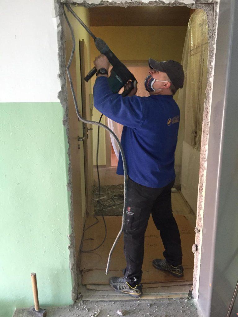 úprava stavbního otvoru